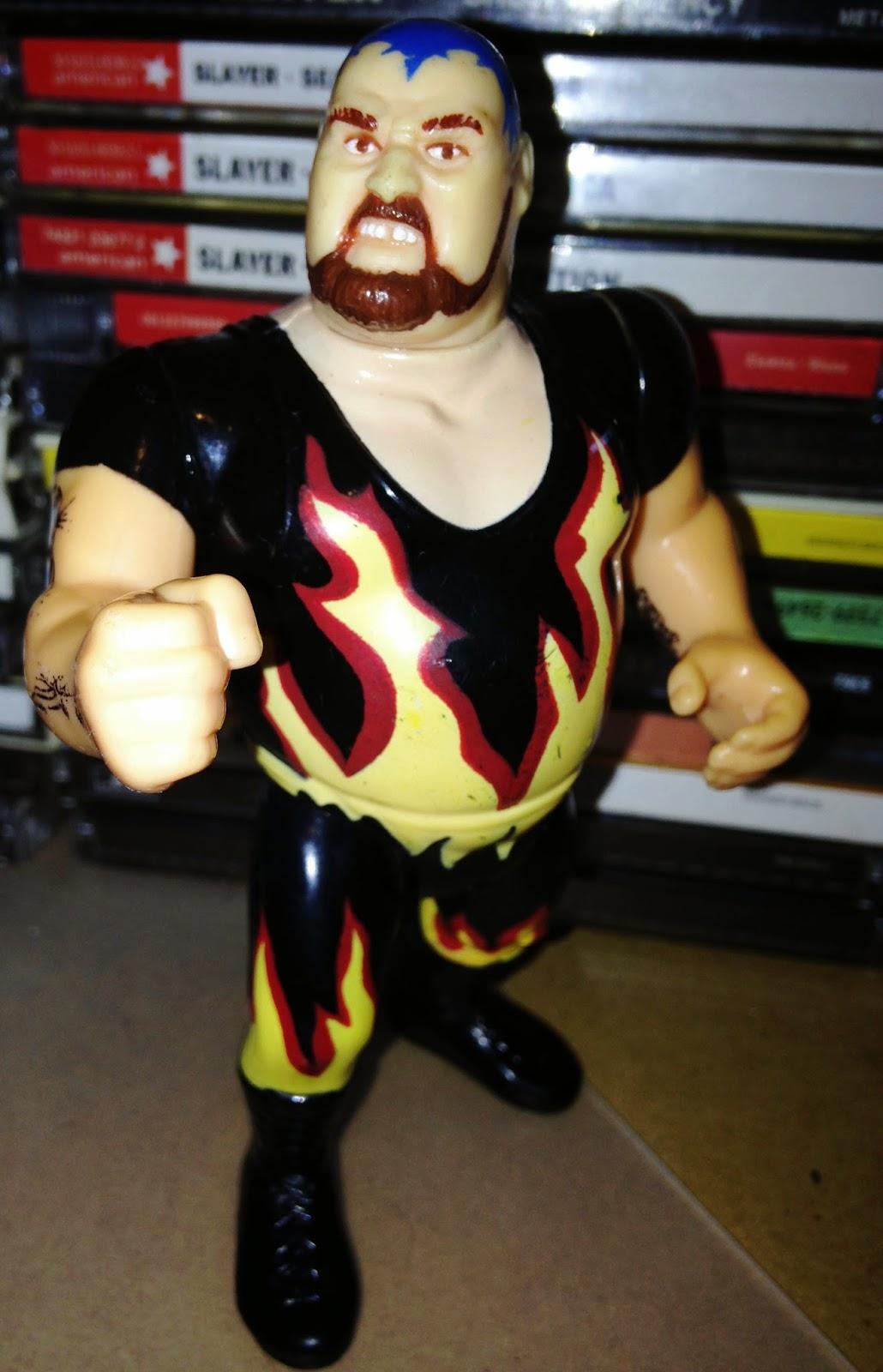 WWF Hasbro Figures - Bam Bam Bigelow