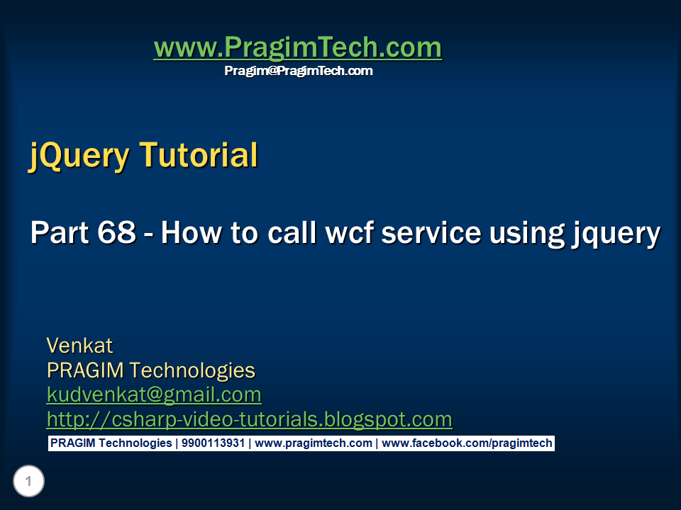 Solved WCF tutorial books or pdf - CodeProject