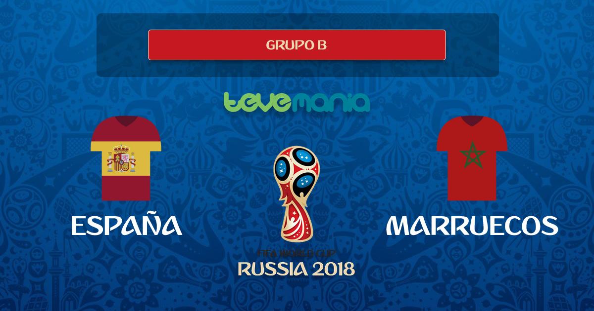España empata 2-2 con Marruecos y termina líder del Grupo B