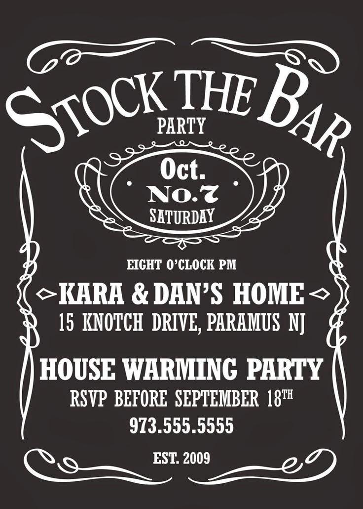 girl talk  stock the bar party ideas