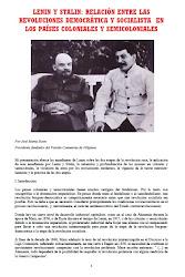 LENIN Y STALIN: RELACIÓN ENTRE LAS REVOLUCIONES DEMOCRÁTICA Y SOCIALISTA