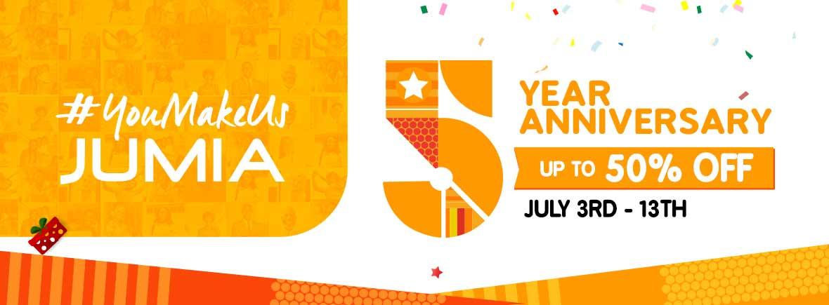 Jumia Anniversary @ 5