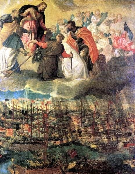 Batalla de Lepanto de Paolo Veronese de Italia inspirado en María Auxiliadora
