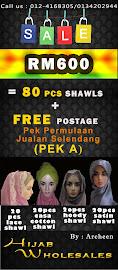 Pakej Borong Selendang Raya