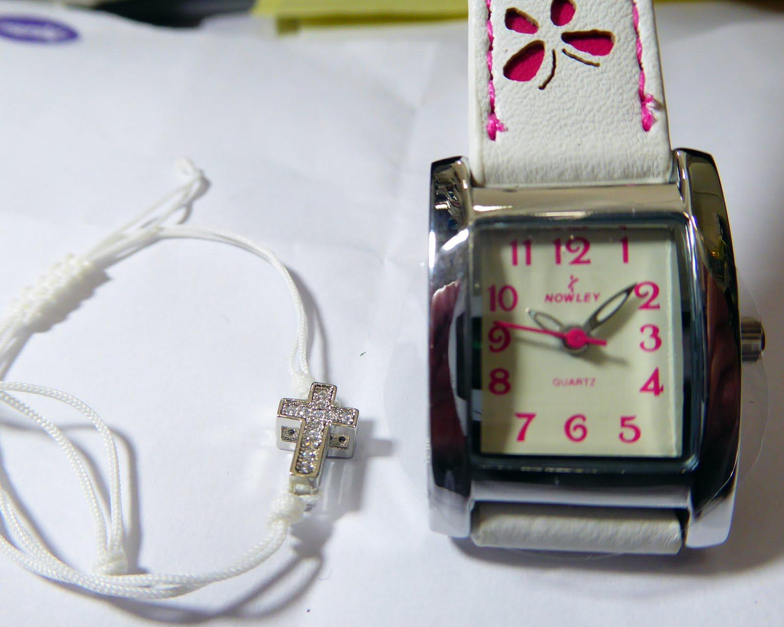 Reloj Comujnión para niña Nowley