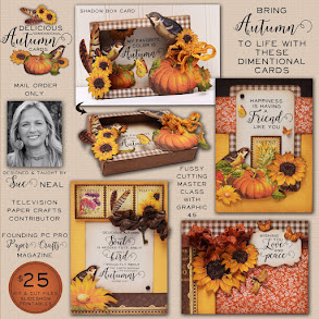 Delicious Dimensional AUTUMN Cards