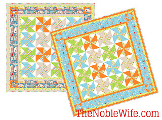 Free quilt pattern by TheNobleWife.com