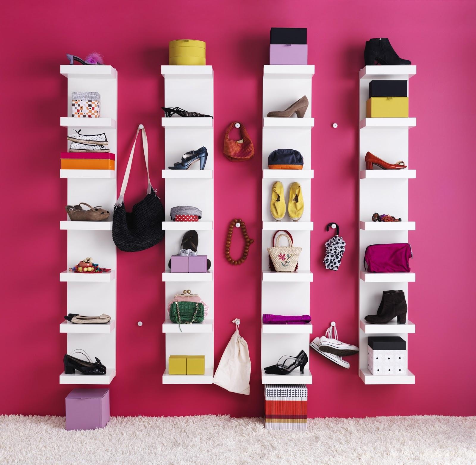 Organizing schoenen - Dressing pour petite chambre ...