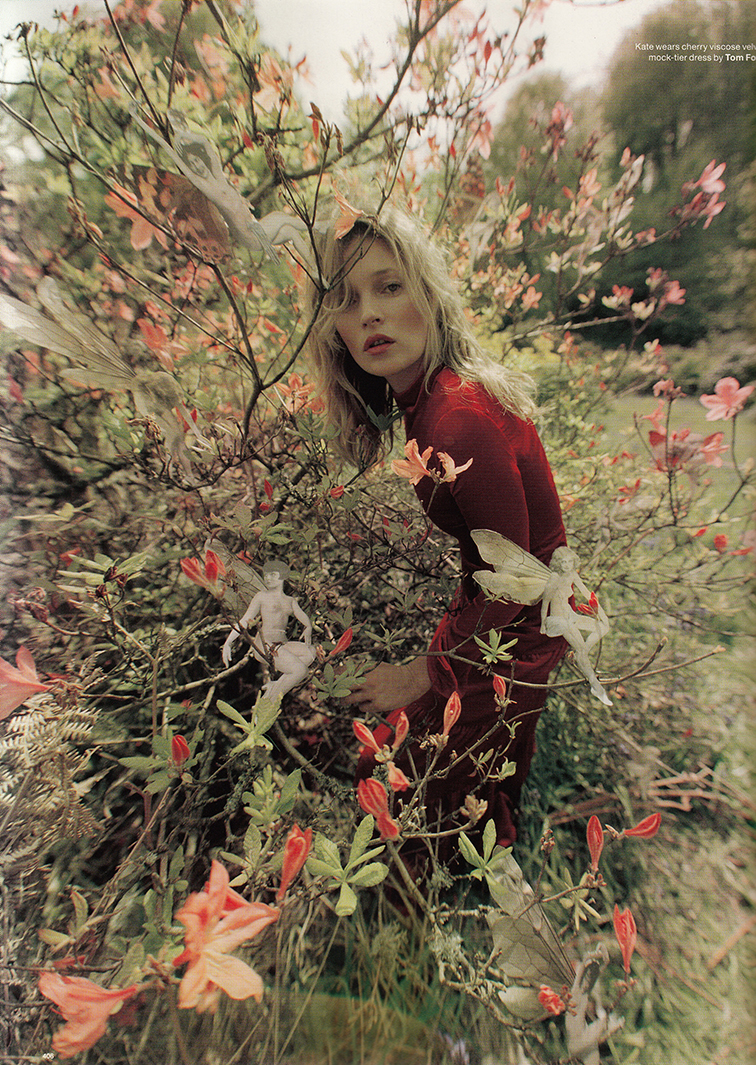 Kate Moss photographed by Tim Walker styled by Katie Grand for Love magazine #12 fall 2014