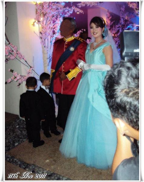 Gambar perkahwinan Syella Kamaruddin