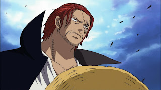 shanks le roux marineford one piece end war four emperor yonkou red haired pirate
