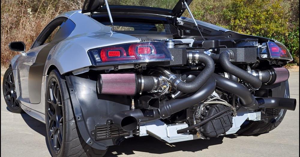 autokavla: Underground Racing 2000hp Audi R8 GT