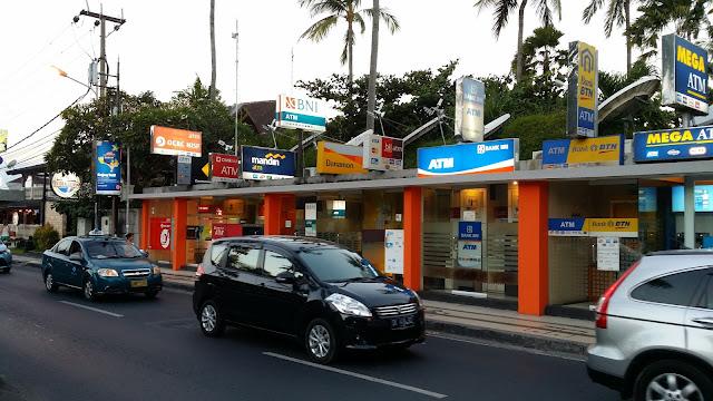 Cajeros automáticos en Kuta, Bali