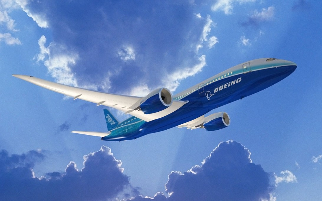 Boeing 787 Dreamliner, Wallpaper Pesawat Terbang 1