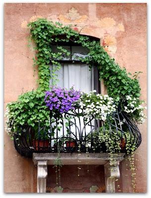 Sweet Sweet Home: FINESTRE E BALCONI FIORITI (decorazioni floreali)