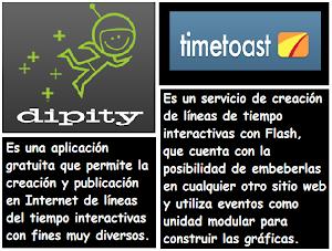 Expresa acontecimientos con DIPITY y TIMETOAST de forma interactiva °° Andrea Rojas