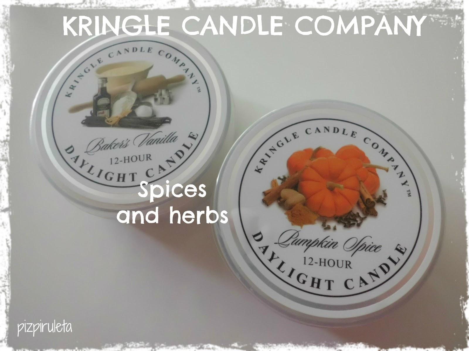 Pizpiruleteando Kringle Candle Company 161 M 225 S Velas