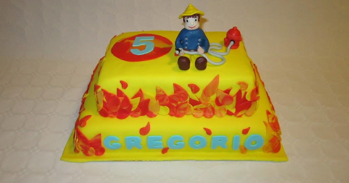 Lodocake torta sam il pompiere