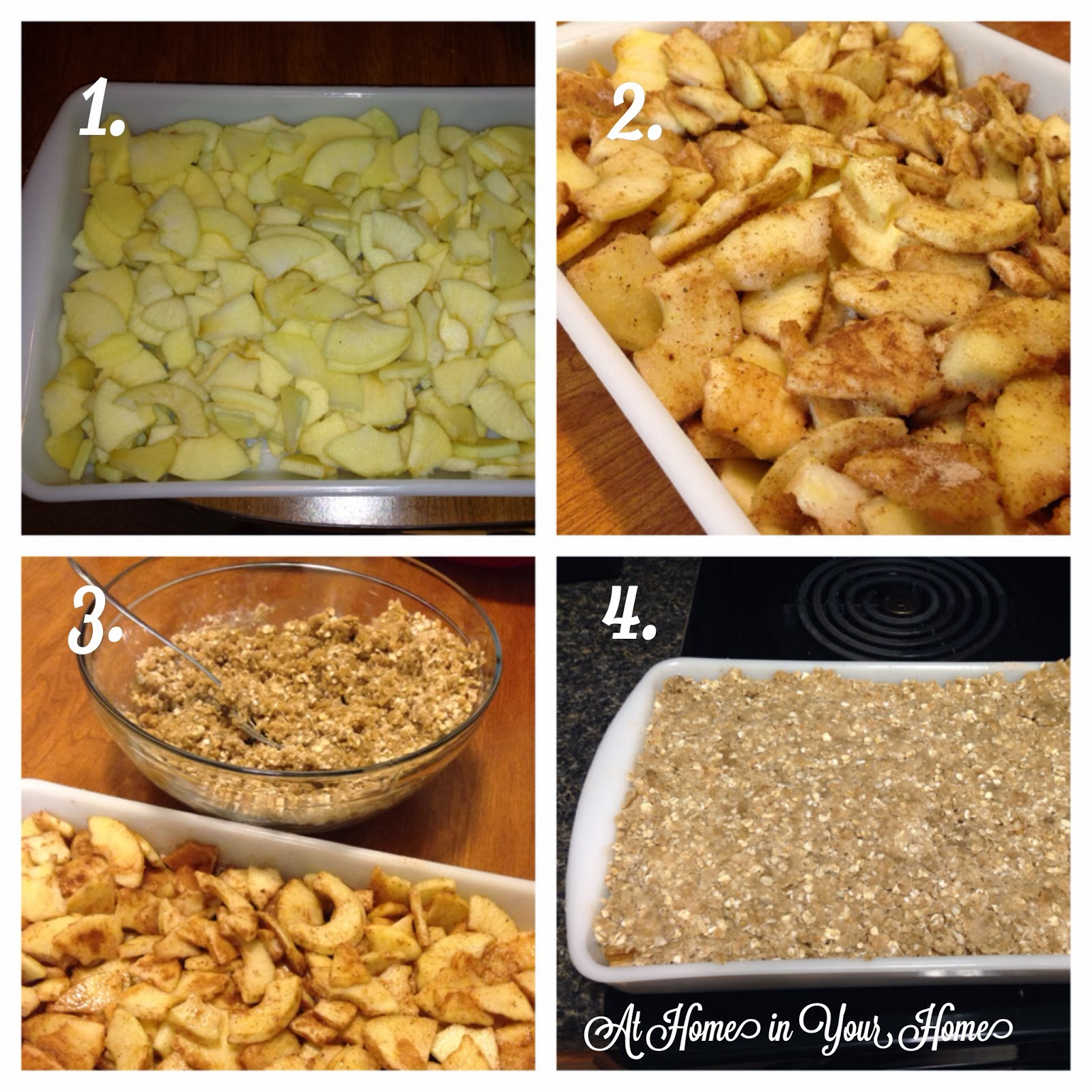 At Home in Your Home: Apple Crisp