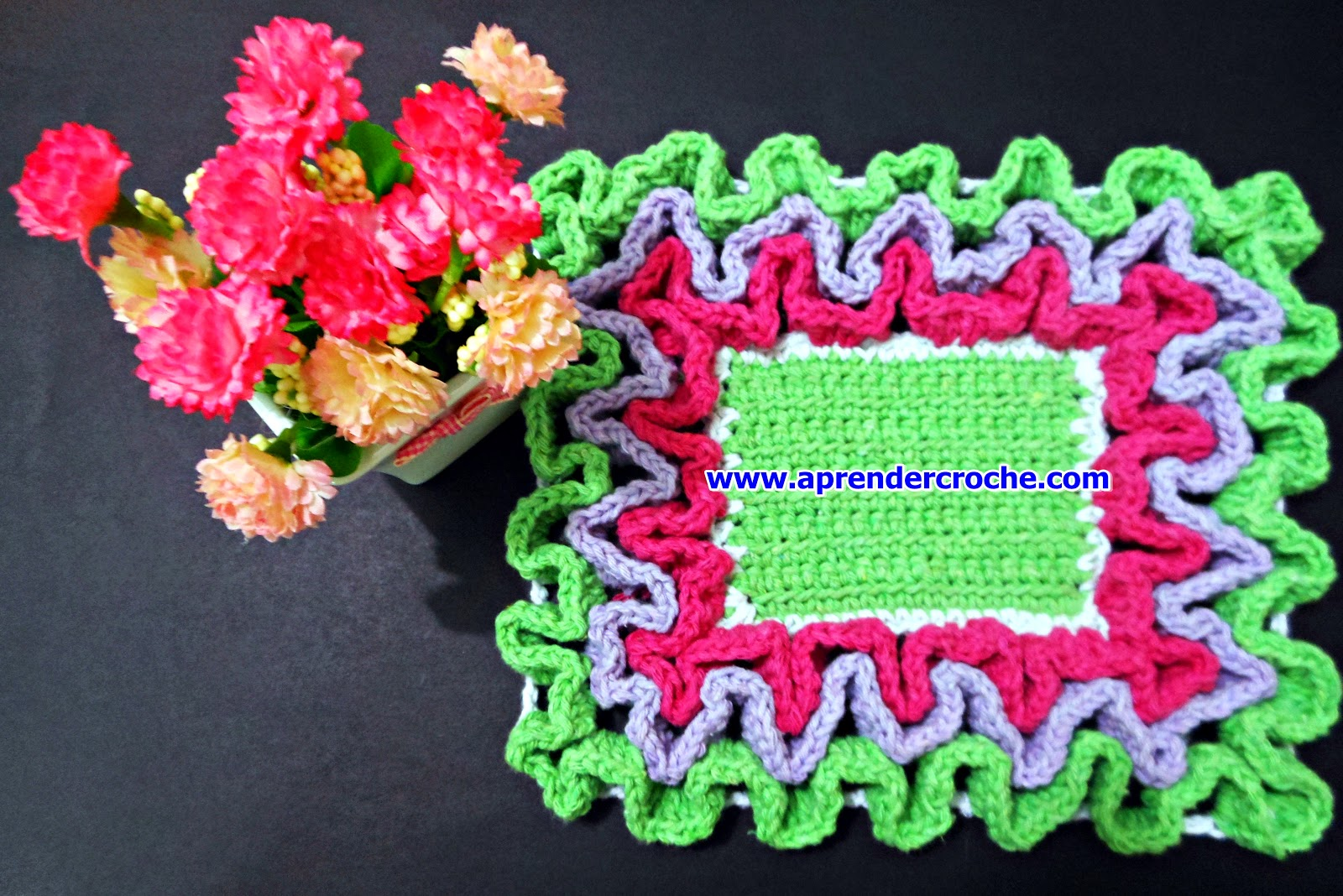 dvd barrados tapetes toalhas aprender croche video-aulas edinir-croche curso loja frete gratis