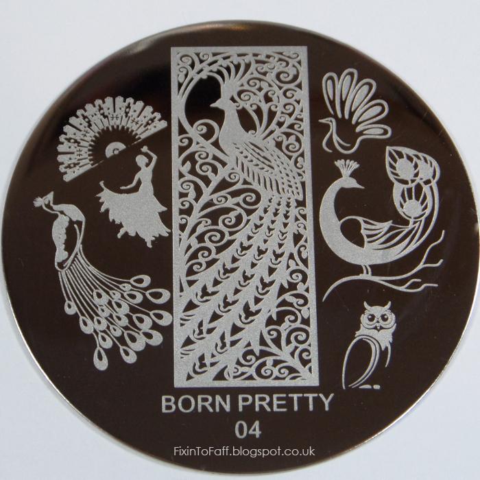 Born Pretty 04 stamping plate.