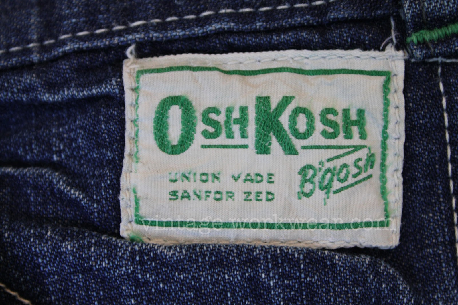 1960\u2019s W34 L29 Utility Carpenter Jeans Sanforized Union Made High Waist USA OshKosh