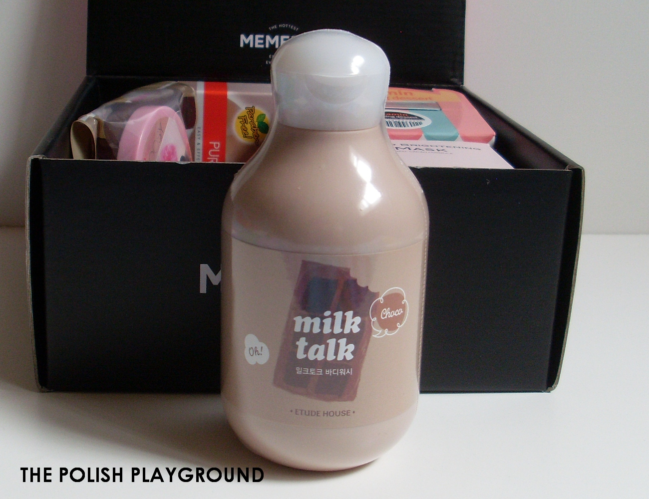 Memebox Special #11 Cacao Unboxing - Etude House Milk Talk