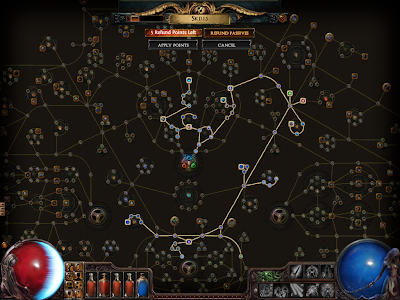 Path of Exile - Witch Skill Path