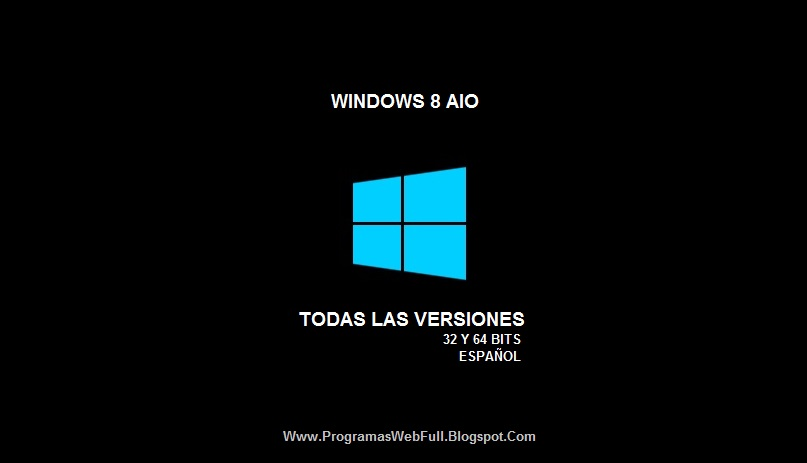 TODAS LAS VERSIONES DE WINDOWS 8