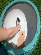 Sealing a Ceramic Planter