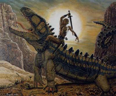 Sigfrido matando al dragón