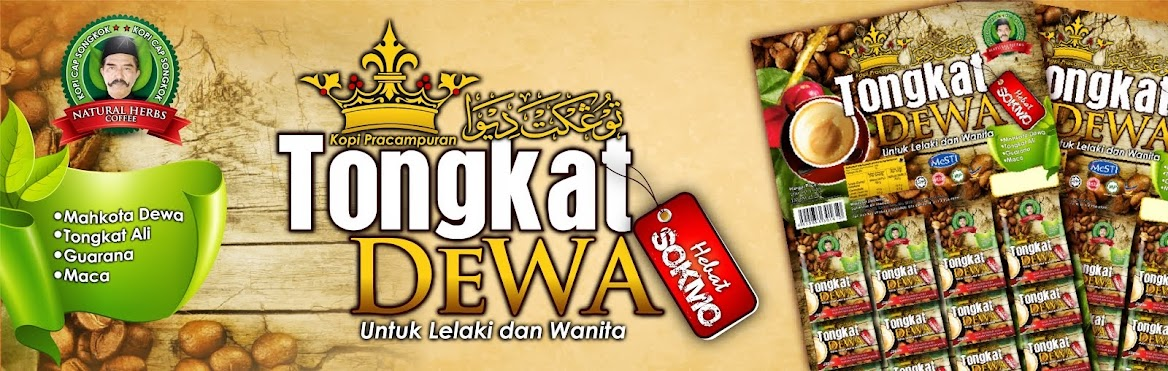 Kopi Tongkat Dewa Power