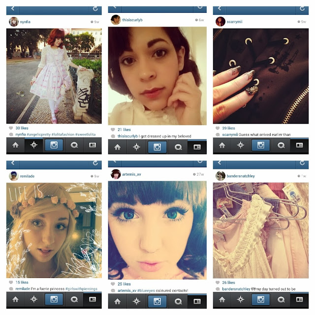 Six of the top ten most underrated lolita instagram accounts