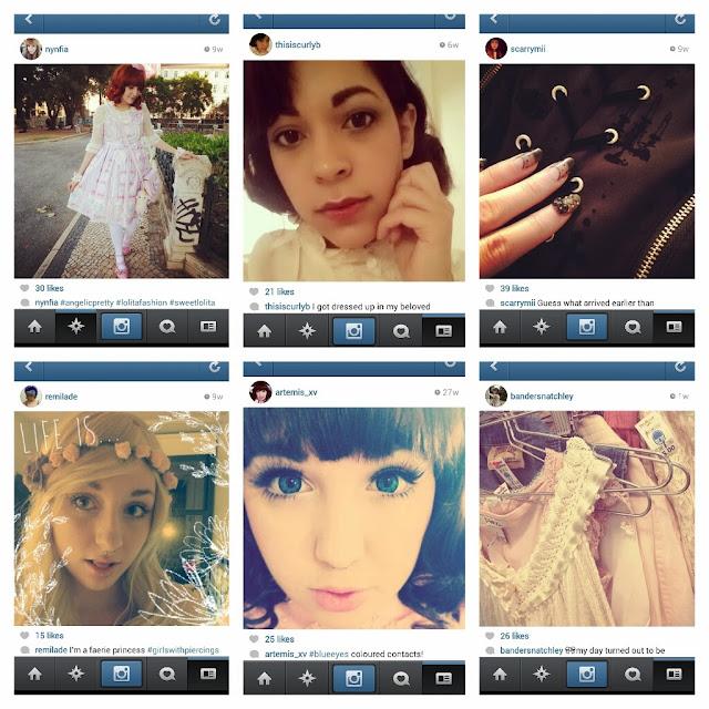Six of the top ten most underrated lolita instagram accounts