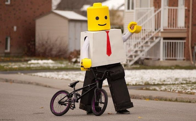 Lego man Halloween