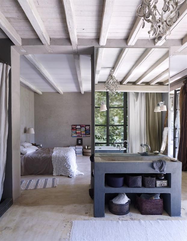 Salle De Bain Chambre Open Space ~ Idées de Design D\'intérieur et De ...