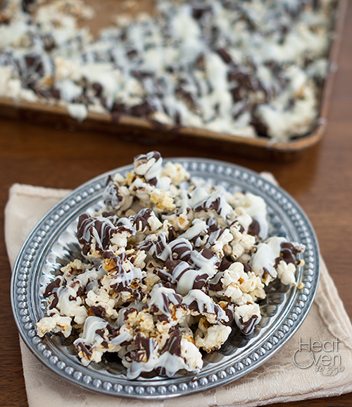 Gourmet Chocolate Covered Popcorn