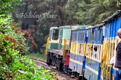Toy train from Mettupalayam to Ooty