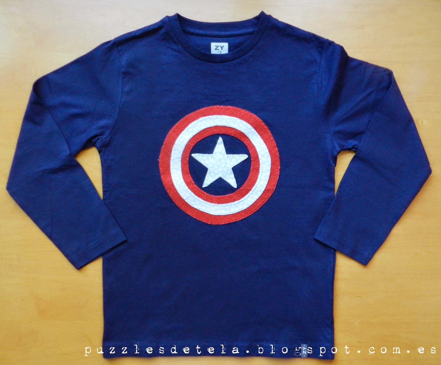 Salón del cómic, Salón del cómic Zaragoza, Los Vengadores, Camisetas de los Vengadores,patchwork, camisetas patchwork, camisetas niño, ropa infantil, camiseta capitán América, capitán América, aplicaciones