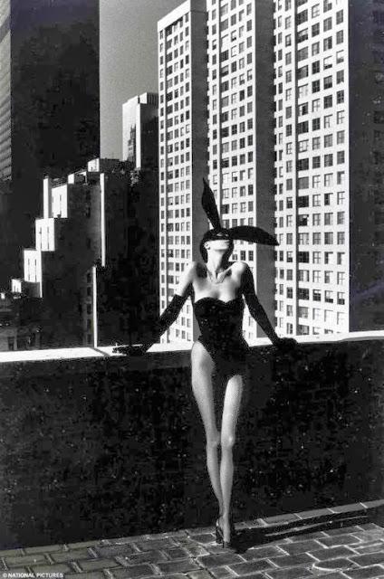 Fetish Inspirations : Helmut Newton - Elsa Peretti In A 'Bunny' Costume By Halston, New York, 1975