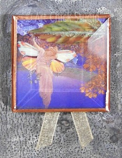 Maxfield Parrish Glass Tile Magnet 2