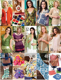 Revista Crochet! July 2011
