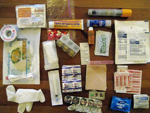 kit medico para camping