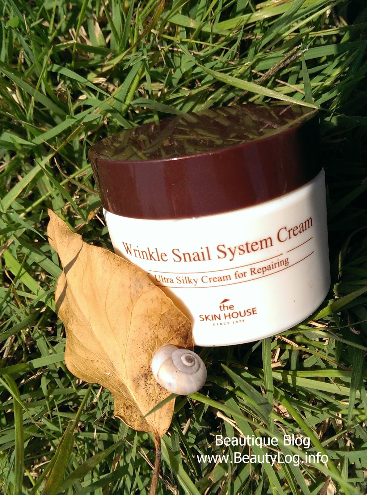The Skin House Snail System Cream
