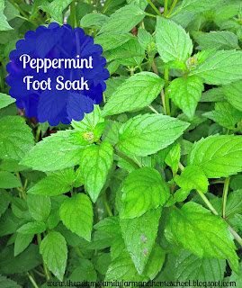 Peppermint Foot Soak Recipe