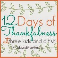 12 days of thankfulness