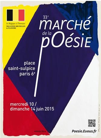 EDITIONS LE CADRAN LIGNÉ AU MARCHÉ DE LA POÉSIE PARIS