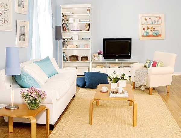 Bricolage e decora o dicas simples para ganhar luz na sala - Decorar con muebles de ikea ...