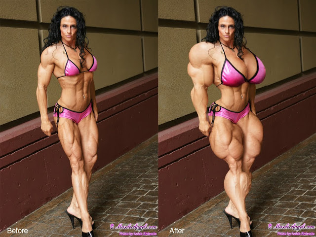 how much muscle can a woman have in real life it s limited to personal