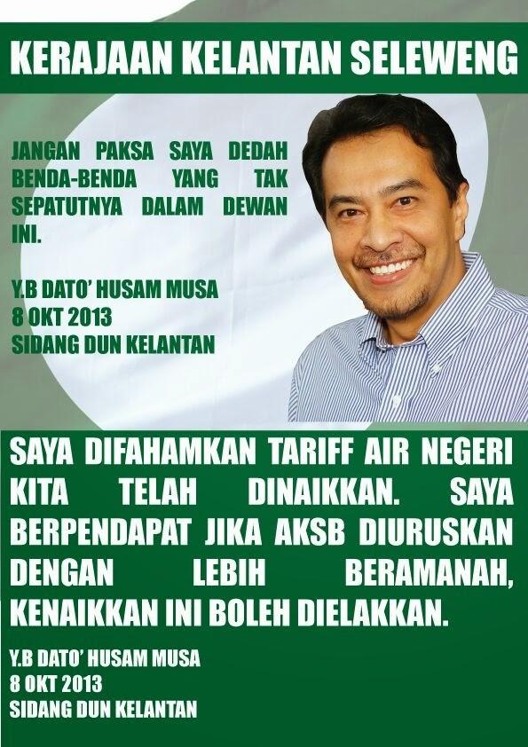 PAS Kelantan Sedang Berkecamuk Husam Vs MB Kelantan